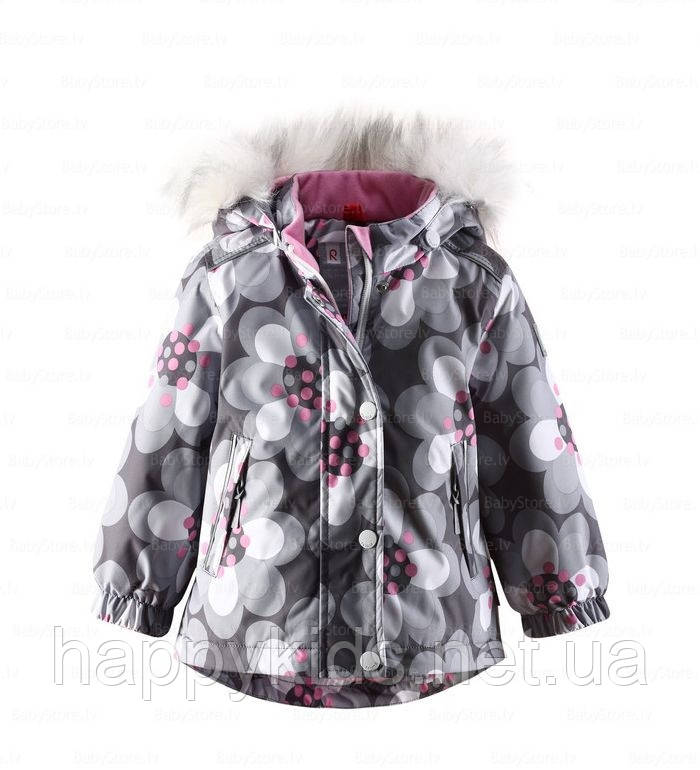 Зимняя детская куртка для девочки ReimaTec 511141 - 9163. Размер 80.