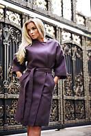 Элегантное пальто из кашемира