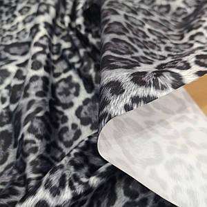 Плащевка принтованная леопард