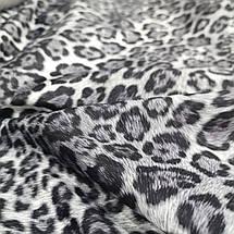 Плащевка принтованная леопард, фото 2