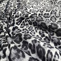 Плащевка принтованная леопард, фото 3