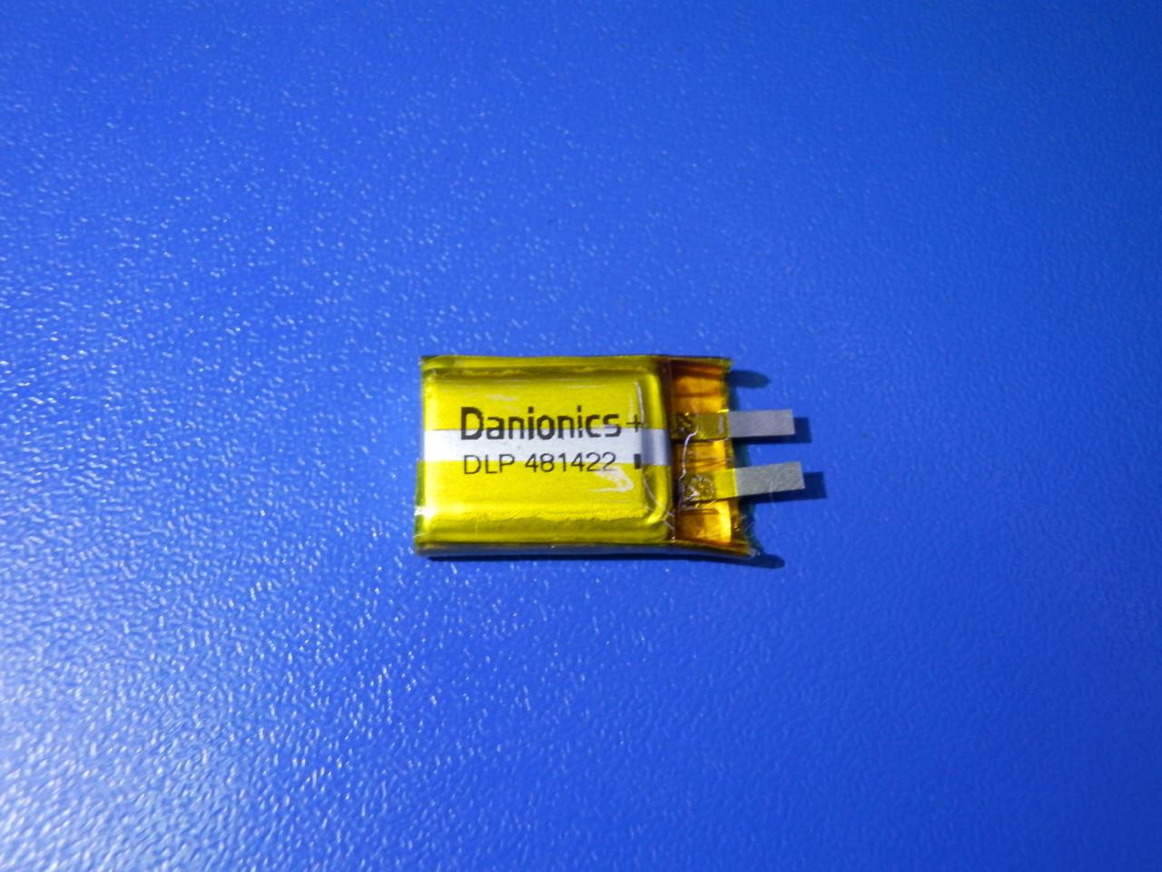 Акумулятор Li-pol Danionics DLP481422 3,7 v 105mAh