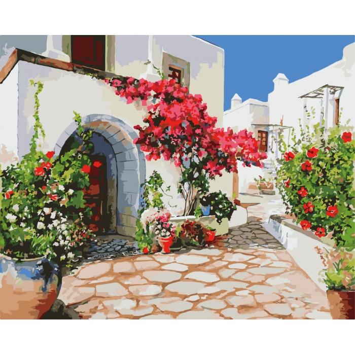 Картина по номерам Райское место КНО2218 Идейка 40x50см