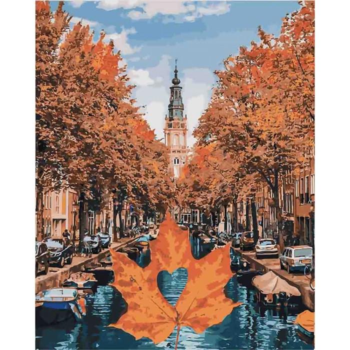Картина по номерам Яскравий Амстердам КНО3536 Идейка 40x50см