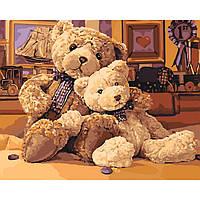 Картина по номерам Братец-медвежонок КНО4126 Идейка
