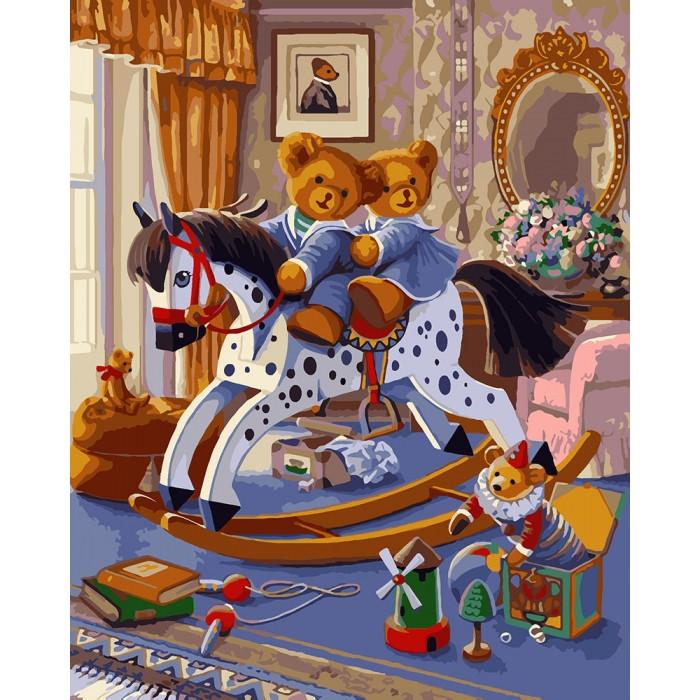 Картина по номерам Детские развлечения КНО4129 Идейка 40x50см