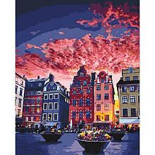 Картина по номерам Каникулы в Стокгольме КНО3558 Идейка 40x50см