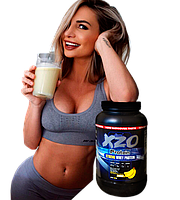 Комплексный протеин для роста мышц с ВСАА XZO Nutrition (банан)