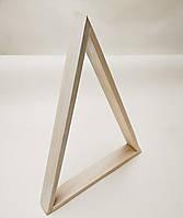 Деревянная полка-треугольник
