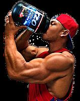 Комплексный протеин для роста мышц с ВСАА XZO Nutrition (клубника)