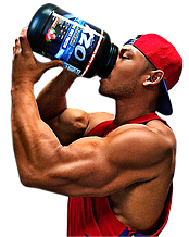 Комплексний протеїн для росту м'язів з ВСАА XZO Nutrition (полуниця)