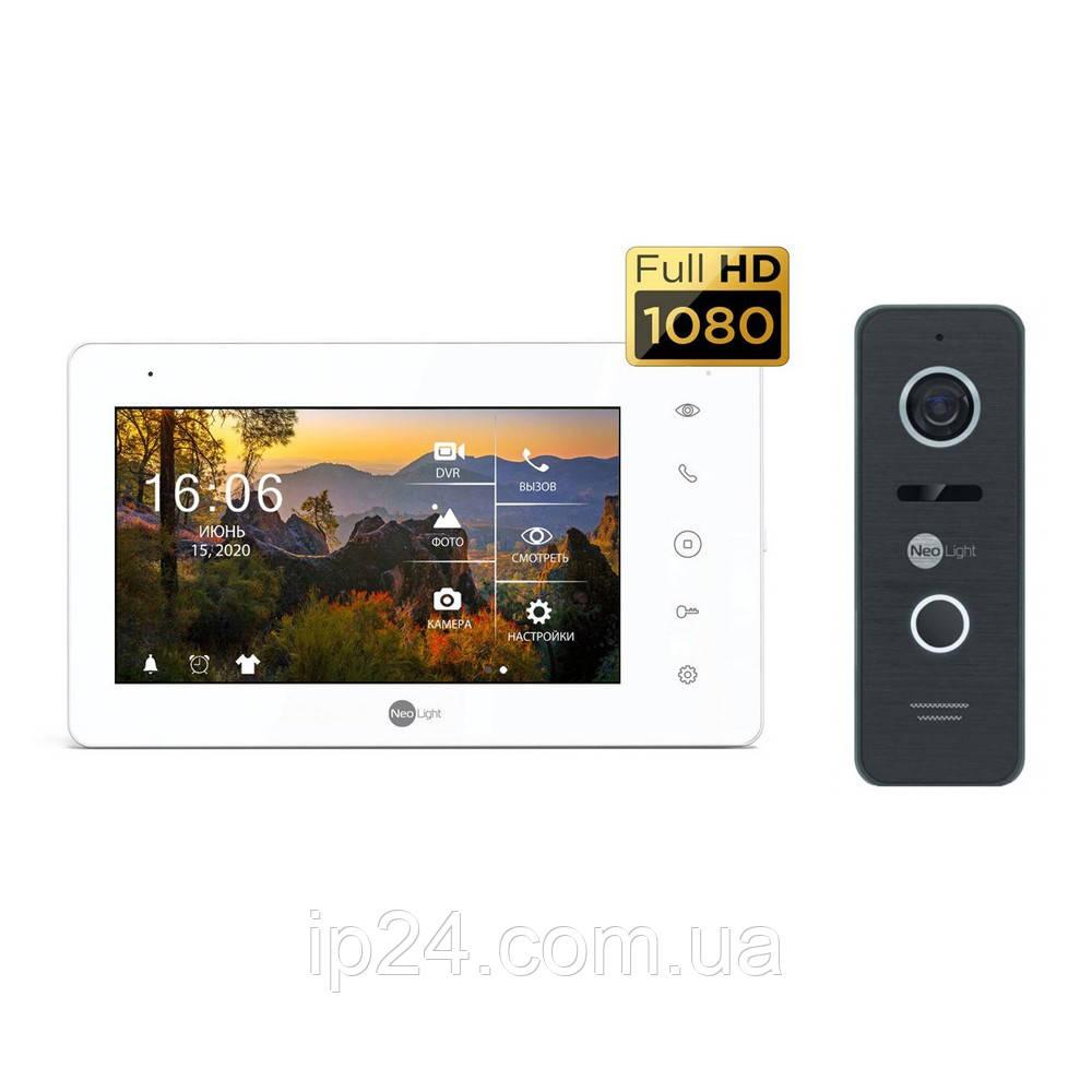 Neolight NeoKIT HD Pro Black комплект домофона для установки в квартире