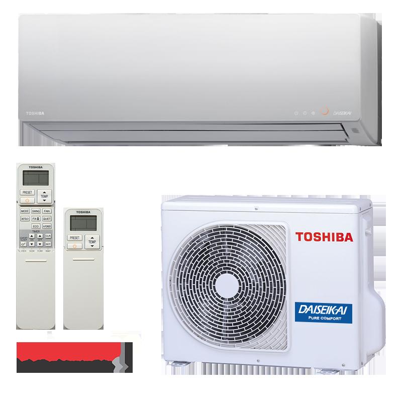 Инверторный кондиционер Toshiba RAS-25G2KVP-ND/RAS-25G2AVP-ND