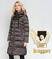 Воздуховик Braggart Angel's Fluff 47250 | Зимняя женская куртка капучино, фото 1