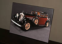 Картина на холсте Ретро автомобиль 30 х 40 см, фото 1