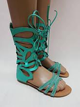 Босоніжки чобітки 37-41