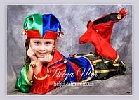 """Карнавальний, новорічний костюм """"Блазень"""", """"Скоморох"""" - ПРОКАТ у Львові, фото 1"""