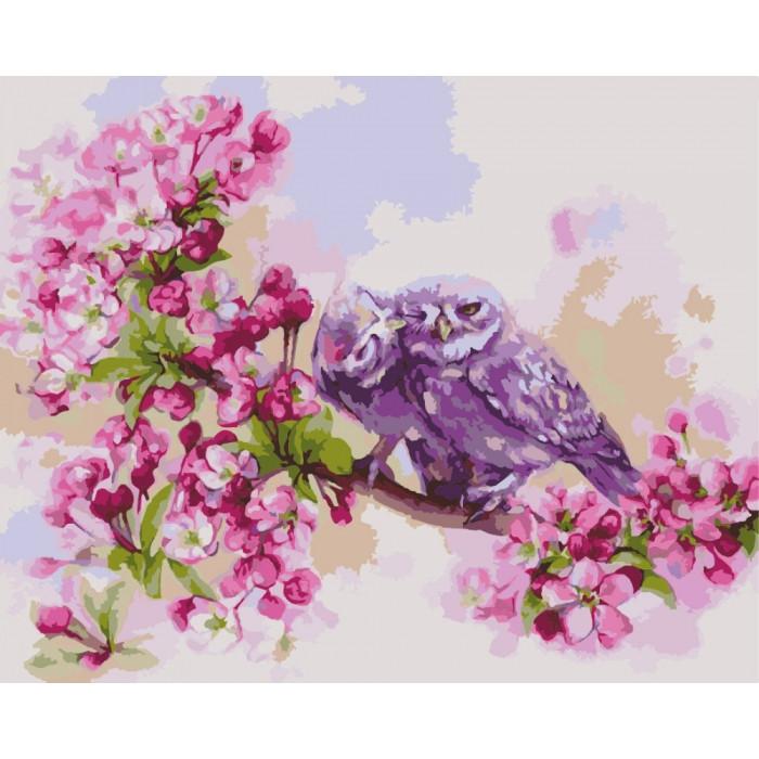 Картина по номерам Единение сердец КНО2487 Идейка 40x50см