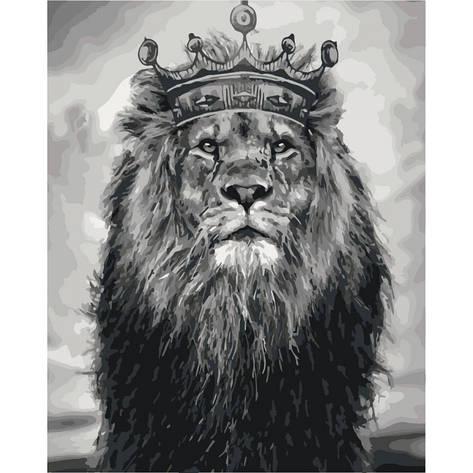 Картина по номерам Король Лев КНО4079 Идейка 40x50см, фото 2