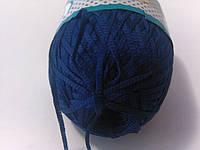 Ленточная пряжа синяя