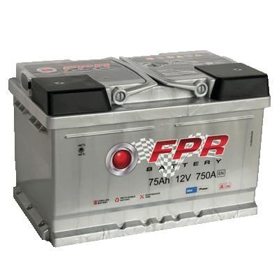 Аккумулятор автомобильный 6СТ -75 Ач.750A. FPR