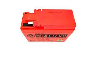Аккумулятор 2,3A 12V Honda DIO AF-34/35 2020r (YTR4A-BS) VLAND 113x49x85, фото 2