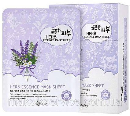Тканевая маска с Травами Herb Essence Esfolio