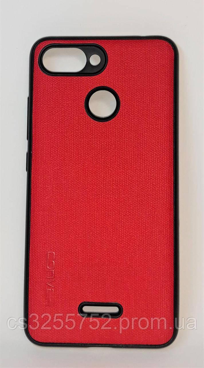 Чехол-накладка для смартфона Xiaomi Redmi 6 Red