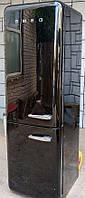 Черный SMEG FAB32NE7 Двухкамерный Ретро холодильник высота 179 см Италия б/у