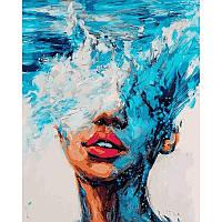 Картина-раскраска по номерам Стихия воды VP1180 Babylon Turbo 40 х 50 см