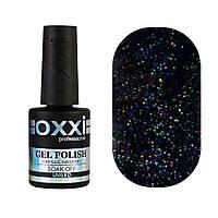 Гель-лак Oxxi Professional №279 (чорний, мікроблиск), 10 мл