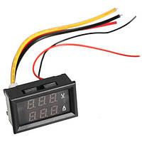 Цифровий DC вольтметр 0 -300В + амперметр 0 -10А, фото 1