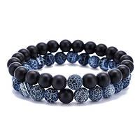 Пара браслетов - Натуральные камни