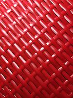 Техноротанг, искуственый ротанг для изготовления садовой мебели АУРА красный  >8мм*1,3мм  бухта 5 кг