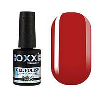 Гель-лак Oxxi Professional №008 (темно-червоний, емаль), 10 мл