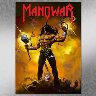 Плакат Manowar