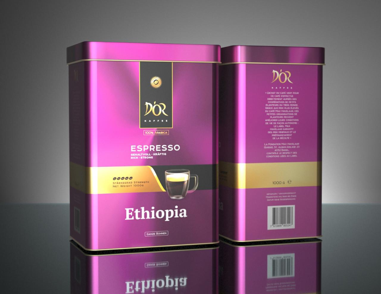 DOR Espresso Ethiopia 1 кг. зерно