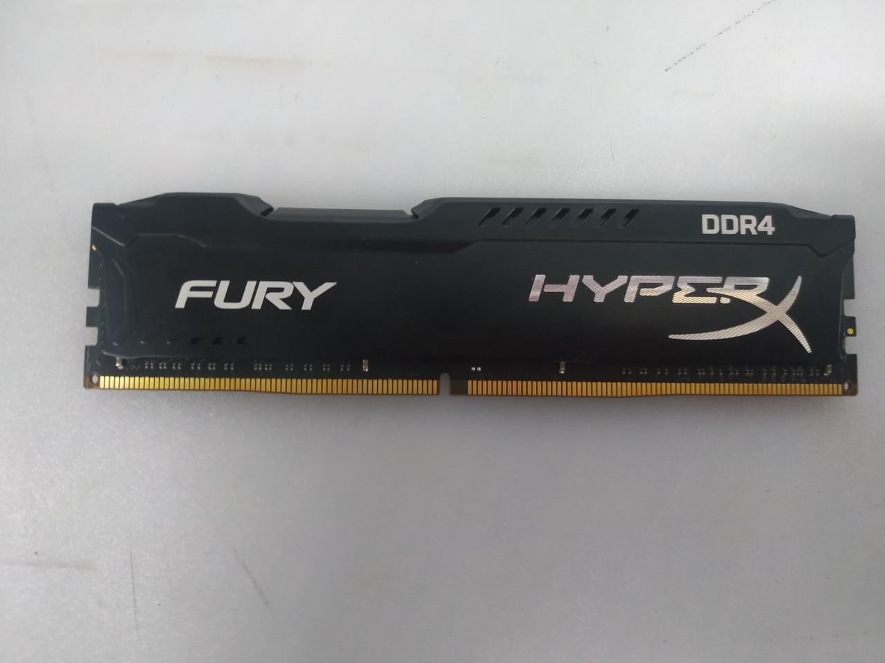 Оперативная память HyperX DDR4-2400 16GB PC4-19200 Fury Black (HX424C15FB/16)