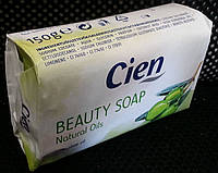 Кусковое мыло оливка Cien beauty Natural Oils Olive Oil