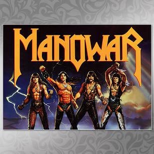 Плакат Manowar Мелованная бумага, 006