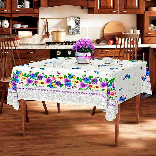 Скатерть льняная (кухонный стол) 1.5м х 1.1м