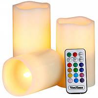 Світлодіодні свічки Luma Candles з пультом