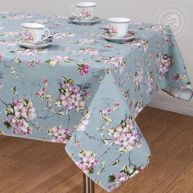 Скатерть льняная (раскладной стол) 2.2м х 1.5м