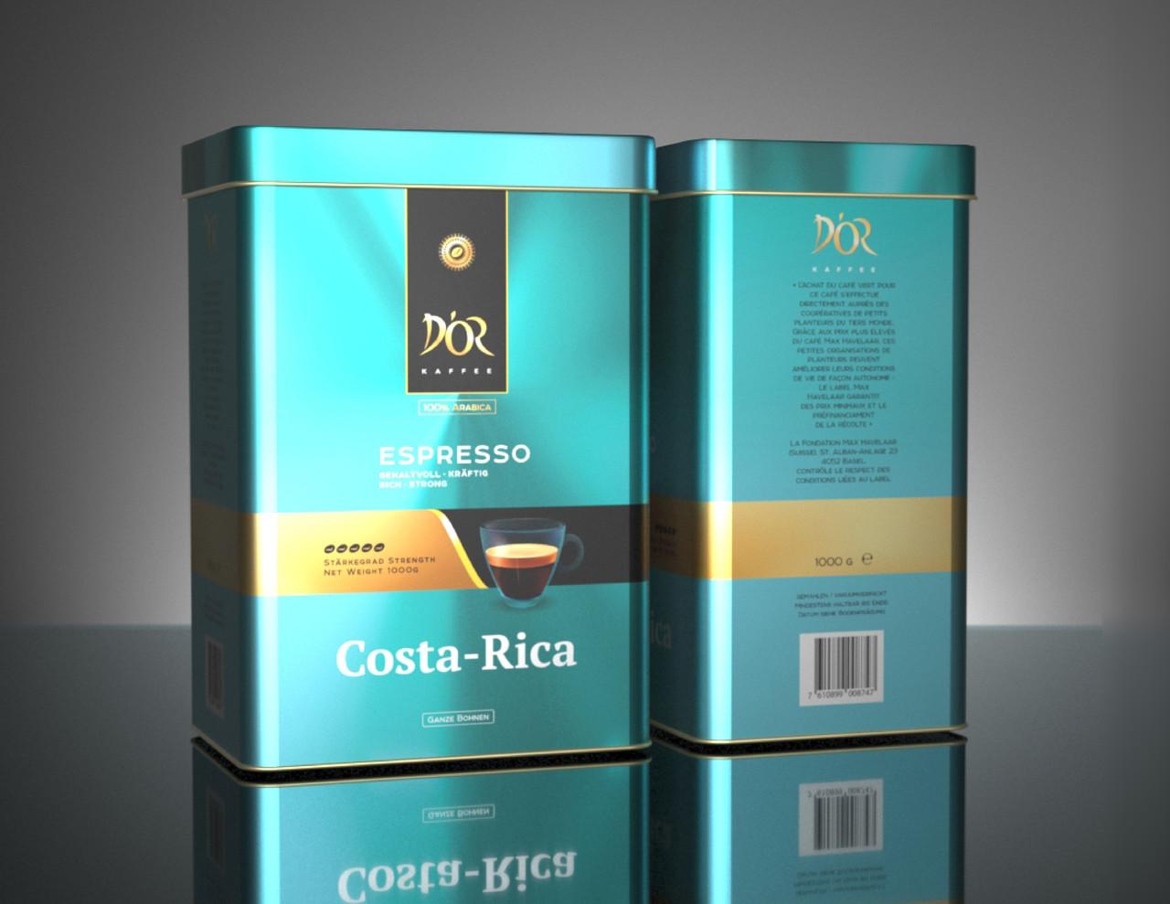 DOR Espresso Сosta-Rica 1 кг. зерно
