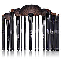 Подарок к Рождеству Набор кистей для макияжа SHANY Studio Quality Natural Cosmetic Brush Set - 24 PC