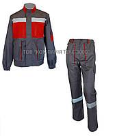 Костюм рабочий CARBON (брюки + куртка), фото 1