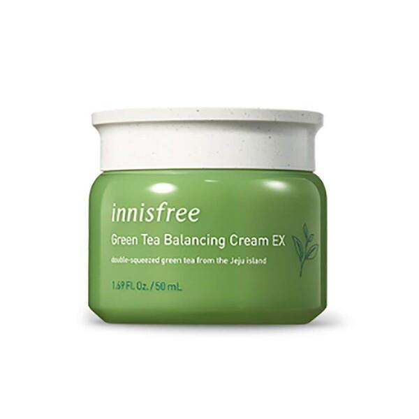 Балансирующий крем с зеленым чаем для комбинированной кожи INNISFREE Green Tea Balancing Cream EX, 50 мл