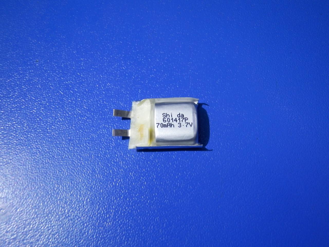 Аккумулятор Li-pol Shida 601417P 3,7v 70mAh 12C