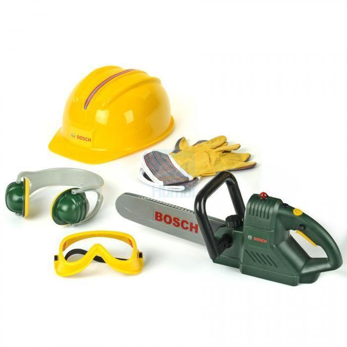 Детский набор инструментов бензопила детская мастерская Bosch Klein 8525