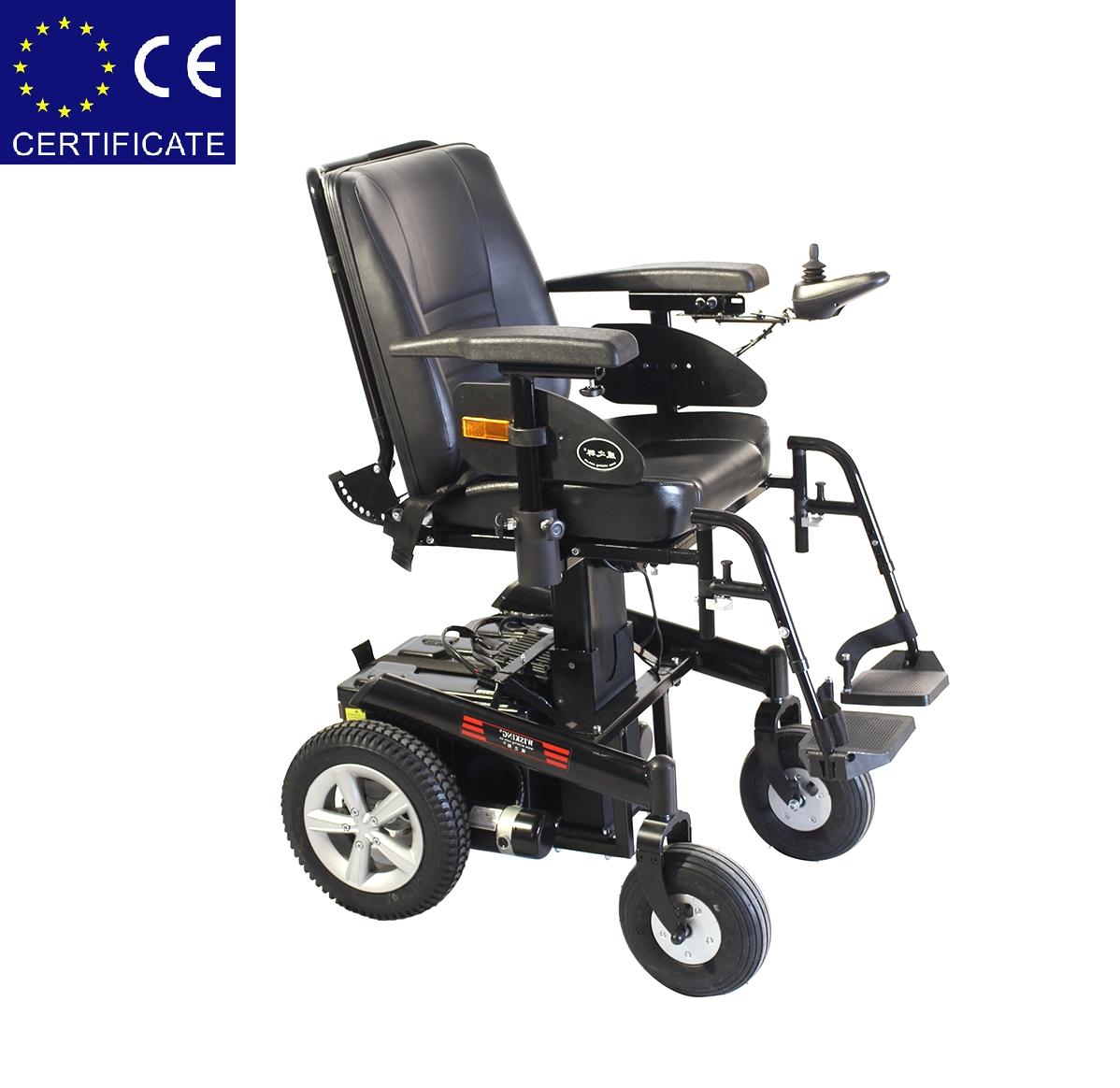 Инвалидная электроколяска с регулировкой высоты сиденья W1022